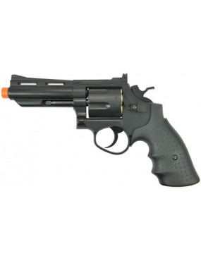 REVOLVER SOFTAIR 132 NERA HEAVY [HG 132B]