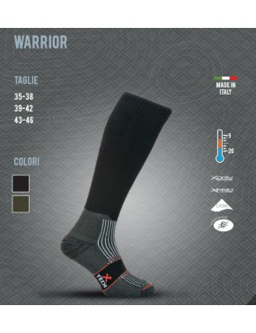 THERMAL SOCK X TECH WARRIOR FROM +5 TO -20 SIZE 43-46