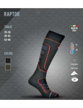 THERMAL SOCK X TECH RAPTOR FROM +5 TO -15 SIZE 39-42