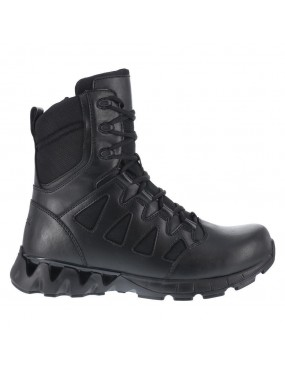 ANFIBI REEBOK DUTY 8 INCH SIDE ZIP TACTICAL BOOT RB8845 TG 42