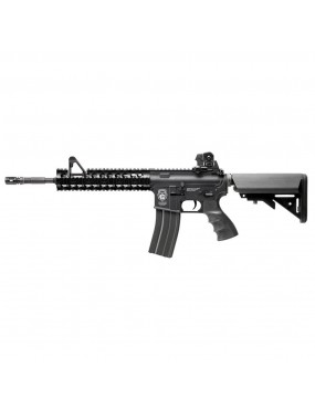 G&G ELECTRIC AIRSOFT RIFLE GR15 RAIDER XL BLACK BLOW-BACK (GG-BBRAIDERXL)