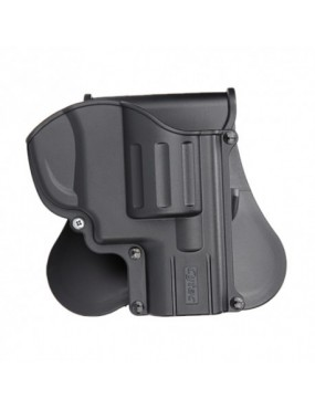 RIGID CYTAC HOLSTER FOR REVOLVER BLACK RIGHT BELT [CY-SW-JF]