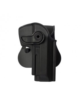IMI DEFENSE BLACK POLYMER HOLSTER FOR BERETTA 92/96 AND VERTEC [IMI-Z1250]