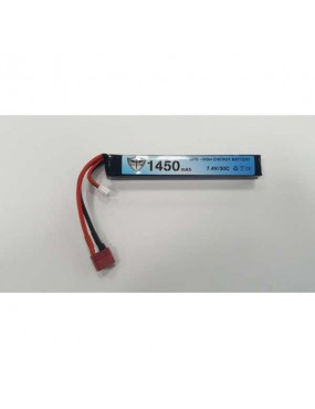 LIPO BATTERY 7.4V 1450MAH 30C BLACK STORM [BS-7.4X1450]