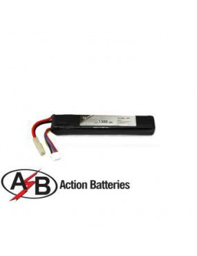 BATTERIA LIPO 11.1V X1300 mAh 20C ACTION BATTERIES [11.1X1300LAB]