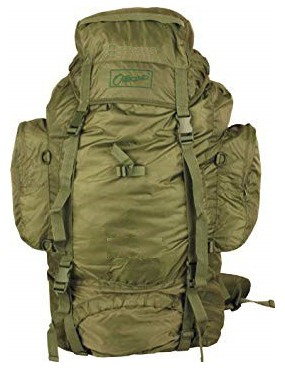 OUTBOUND ADVENTURE BACKPACK 65 LITERS OLIVE GREEN [OR30065]