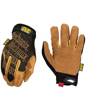 GLOVES MECHANIX WEAR ORIGINAL LEATHER TAN SIZE S [LMG-75-008]