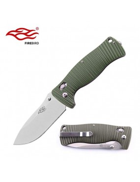 COLTELLO RICHIUDIBILE F720-GR FIREBIRD BY GANZO VERDE [G720-GR]