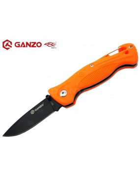 COLTELLO RICHIUDUBILE ARANCIO G611 GANZO [G611-OR]