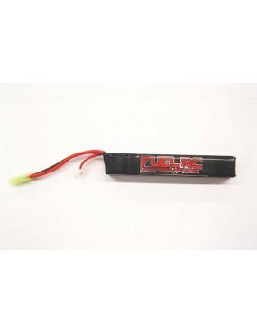LIPO BATTERIE  7.4X2200 TUBE 25C FUEL RC  [FL-7.4X2200T]