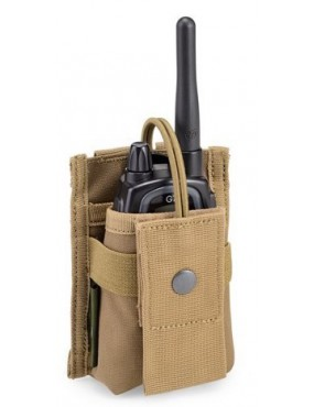 OUTAC COYOTE TAN DEFCON RADIO POCKET 5 [OT-RP02 CT]