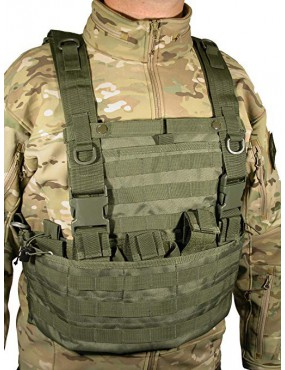 TACTICAL VEST WASACH SWISS ARMS GREEN [604035]