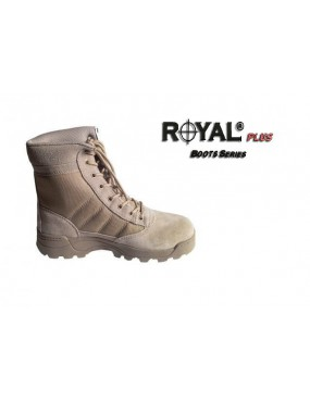ANFIBI TAN IN ECO PELLE-CORDURA CON HIGH GRIP TAGLIA 46 [RP-BMT-46]