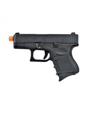 WE PISTOLA A GAS SCARRELLANTE GLOCK G27 GEN4 NERA FULL METAL [W-G26B]
