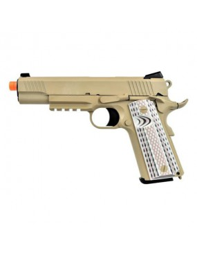 PISTOLA A GAS 1911 M45A1 TAN  WE   [WE15T]