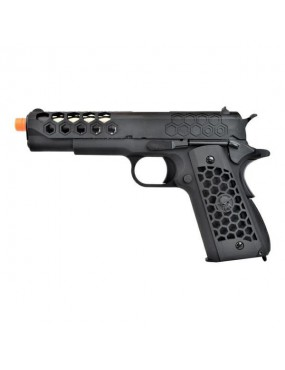PISTOLA A GAS 1911 HEX CUT GEN2 NERO [WE16B]