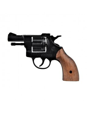 BLANK GUN OLYMPIC 6MM WOOD GRIPS [BR-1000]