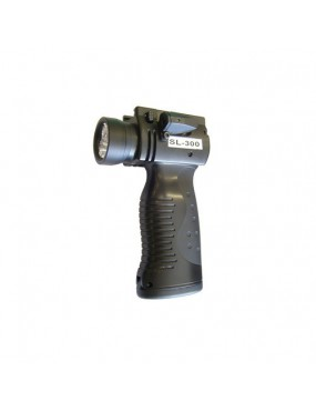 HANDLE WITH LASER AND 300LUMEN LED TORCH ROYAL [SL300]