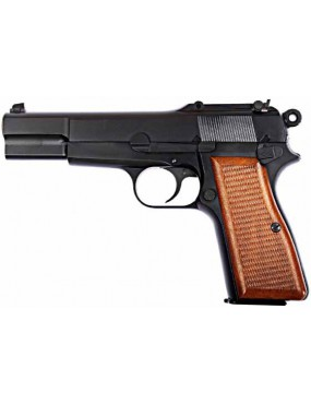 PISTOLA A GAS BROWING MILITARY HI-POWER BLACK FULL METAL [7526]