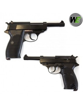 PISTOLA WE  P38 A GAS BLACK FULL METAL [7724]
