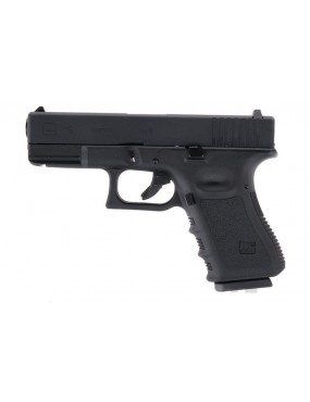 PISTOLA A GAS WE GLOCK G19 GEN.3 BLACK  [7621]
