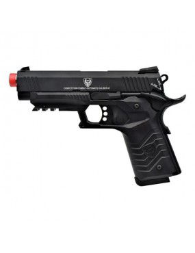 HFC 1911 GAS PISTOL BLOWBACK FULL METAL BLACK [HG 171B]