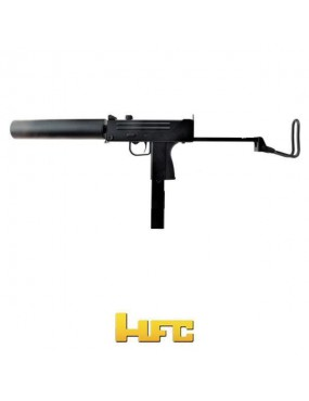 MAC11 GAS ASSAULT EAGLE SEMI / FULL AUTO HFC BLACK [HG 203E]