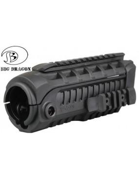 TACTICAL HANDGUARD BLACK BIG DRAGON FOR M4 SERIES [BD-3761B]