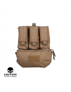 FRONT PANEL TAN FOR TACTICAL JACKET BRAND EMERSON GEAR COLOR TAN [EM9300CB]