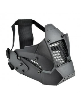 WOSPORT IRON WARRIOR BLACK MASK [WO-MA95B]