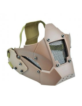 WOSPORT IRON WARRIOR TAN MASK [WO-MA95T]