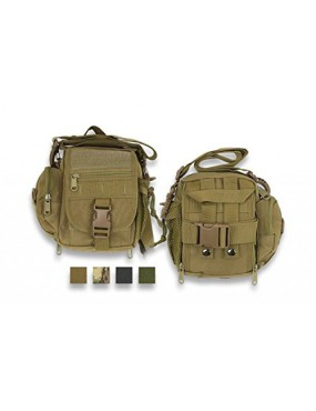 600D GREEN SURVIVAL BAG WITH BARBARIC SPRING SYSTEM [34905-VE]