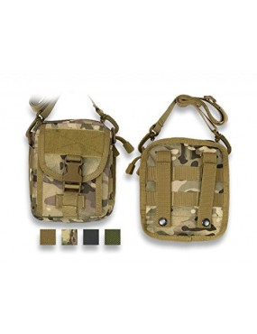 ALL GREEN POCKET WITH MOLLE FITTING 600D BARBARIC [34895-VE]