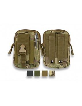 BARBARIC EVERYTHING POCKET WITH EXTERNAL PEN HOLDER AND GREEN MOLLE MOUNT...
