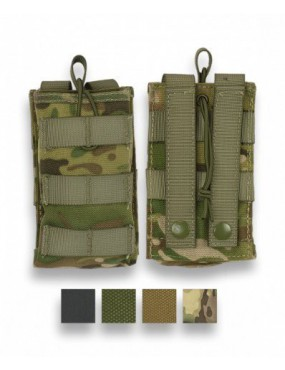 MAGAZINE POUCH WITH MOLLE ATTACHMENT COLOR GREEN 600D [34900-VE]