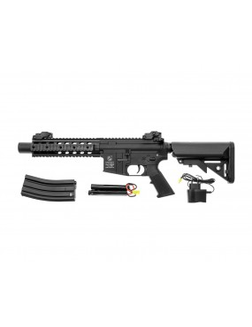 FUCILE ELETTRICO M4 SPECIAL FORCES NERO FULL METAL COLT [180868]