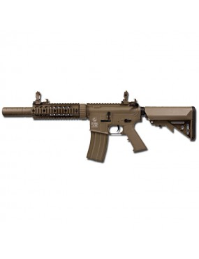 ELECTRIC RIFLE M4 NY FORCES SILENT OPS TAN HANDGUARD METAL COLT [180864]