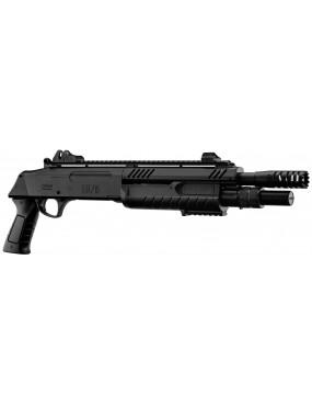 SPRING PUMP MULTI SHOT FABARM STF / 12-11 SHORT BLACK BO MANUFACTURE [3004B]