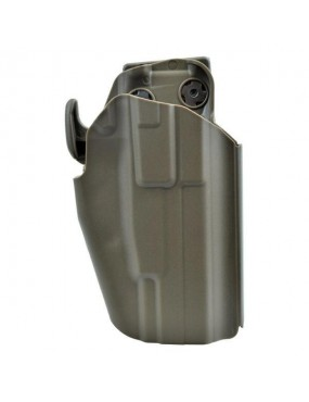 WOSPORT UNIVERSAL RIGID HOLSTER 1 TAN [WO-GB35T]
