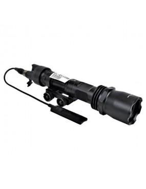 M961 LED TORCH WITH RIS ATTACK BLACK [EL-EX109B]