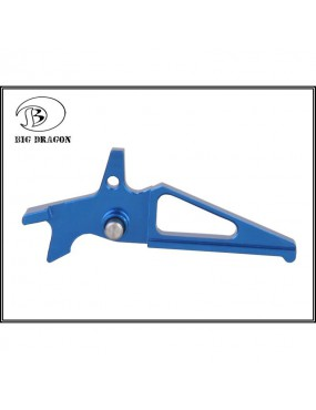 BIG DRAGON TRIGGER FOR M4 BLUE [BD-4609B]
