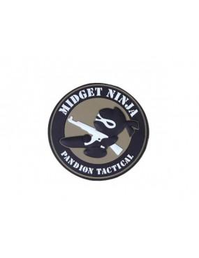 NINJA MIDGET PVC PATCH [EM5544]