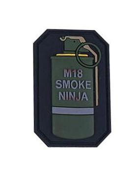 PATCH IN PVC M18 SMOKE NINJA [EM5525C]
