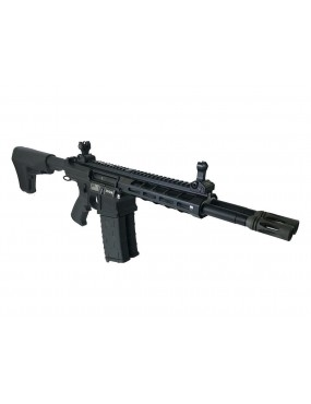 DOUBLE BARREL ELECTRIC RIFLE DT4 NEMESIS BLACK CLASSIC ARMY WITH MOSFET [CA118M]