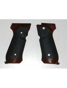GRIP GRIP FOR BERETTA 92 FAKE WOOD LUXAIR KEYMORE KJWORKS [H-644]