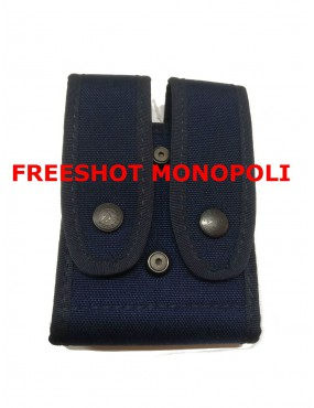 VEGA HOLSTER BLUE DOUBLE MAGAZINE CASE [2P55B]