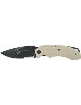 DEFCON 5 TACTICAL FOLDING KNIFE TAN FOXTROT [D5-K007]
