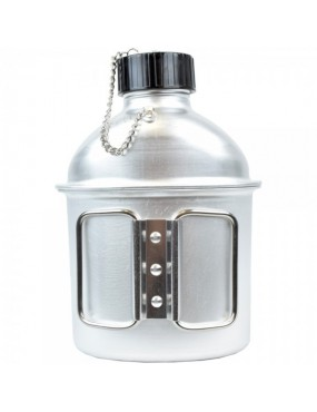 JS-TACTICAL ALUMINUM BOTTLE 1 LITER WITH CUP [JS-1802]