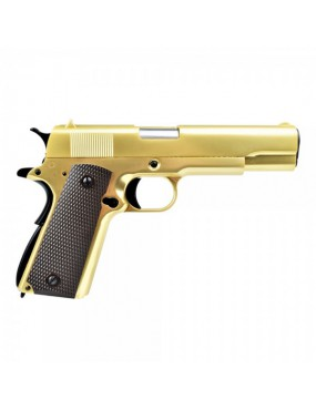 WE PISTOLE A GAS 1911 GOLD [W049G]