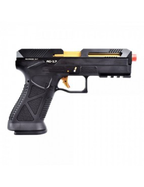 HFC GAS PISTOL G-17 ADVANCED BLACK [HG 182B]